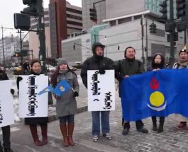Demonstration to support Southern Mongolian herders 2015-02-14